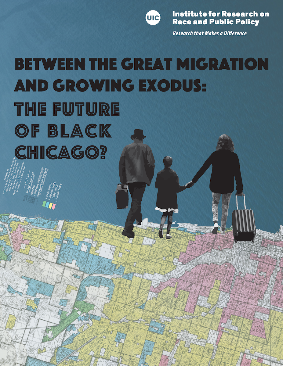 cover of Between the Great Migration and Growing Exodus