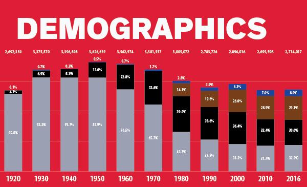 Demographics Data Image Future of Black Chicago Report