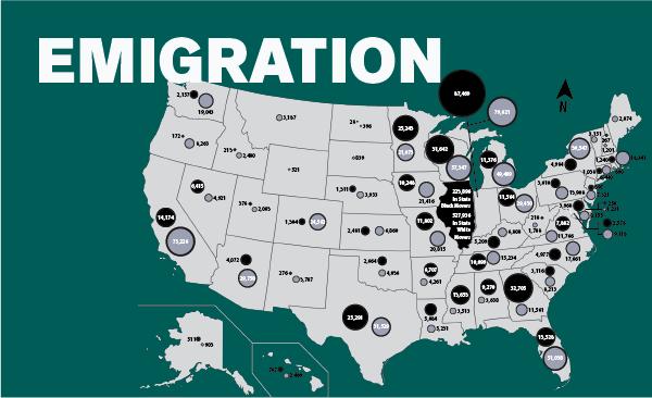 Emigration Data Image Future of Black Chicago Report