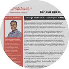 Scholar Spotlight for Phoenix Matthews