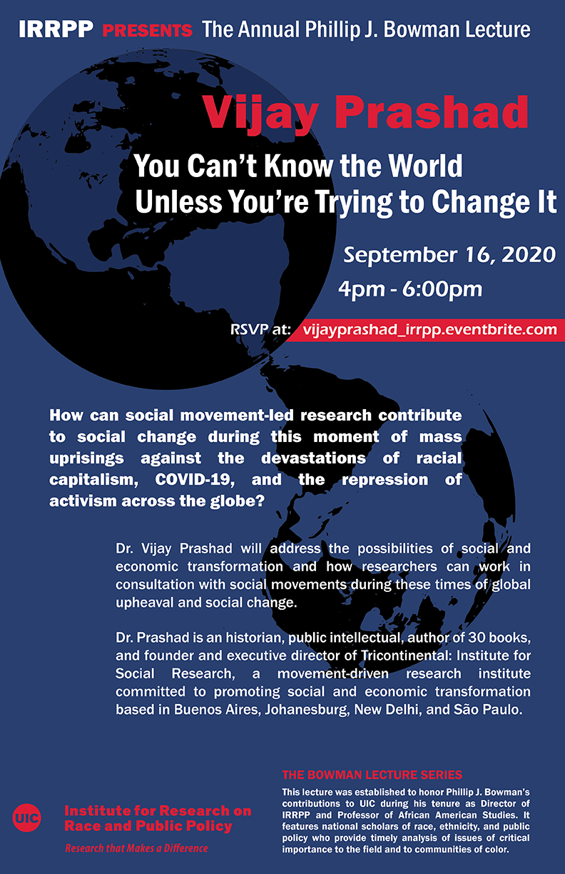 Poster for 2020-2021 Bowman Lecture