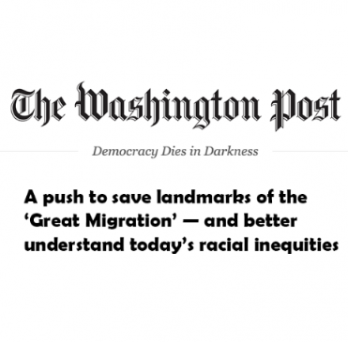 Logo for the Washington Post with title of the article referenced in the link